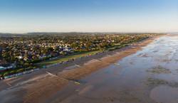Aerial view of rustington west susse