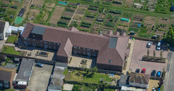 Aerial View of Fairlight Care Home Rusti