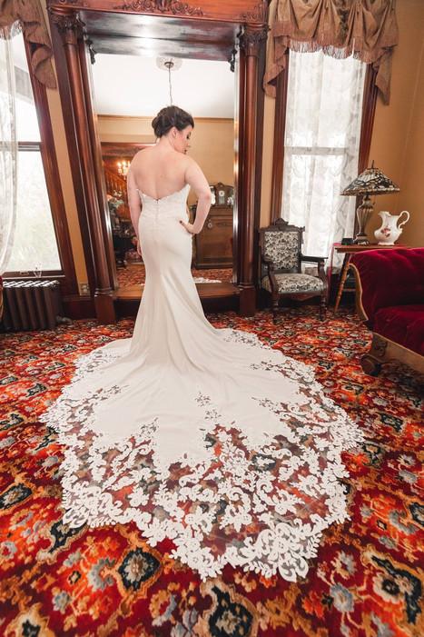 Stunning Bride  Photographer Credit: Jamie Hiner Creations