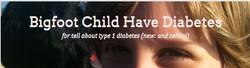 Big Foot Child Have Diabetes