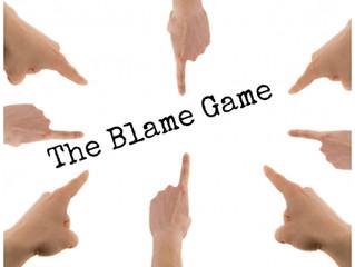 D Blog Week 2017 #3:  The Blame Game