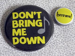 D Blog Week 2017 #4:  #TBT                 Don't Bring Me Down