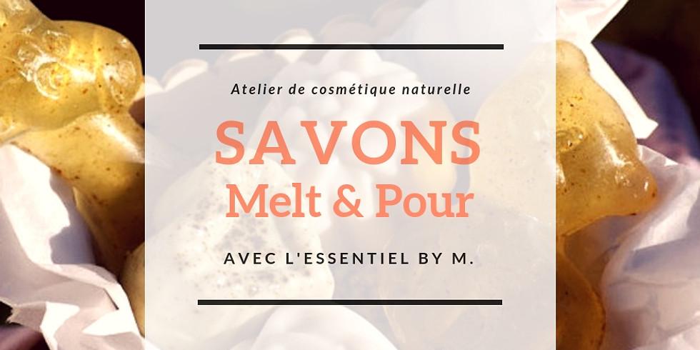 KDO de Noël : SAVONS Melt & Pour