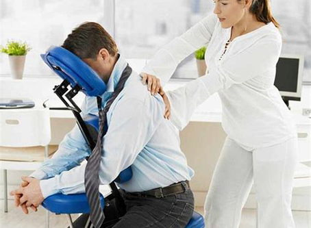 Organiser le massage assis en entreprise
