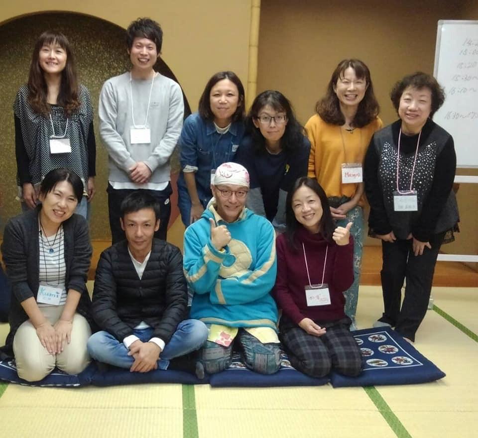 ゲシュタルトセラピーを学ぶ仲間が仙台に集い、合同練習に参加してきました。