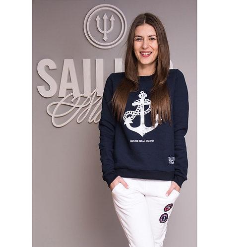 Sweatshirt Basic Anchor Navy