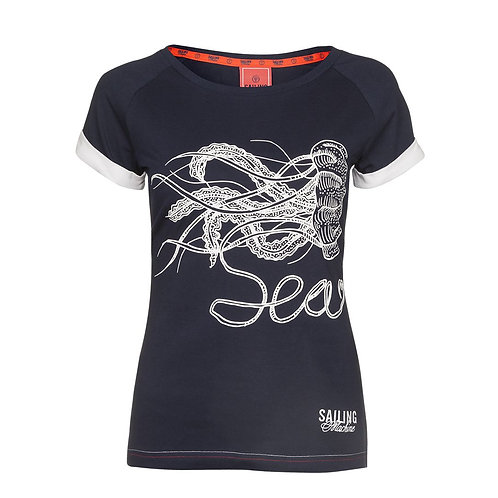 T-shirt Yellyfish navy