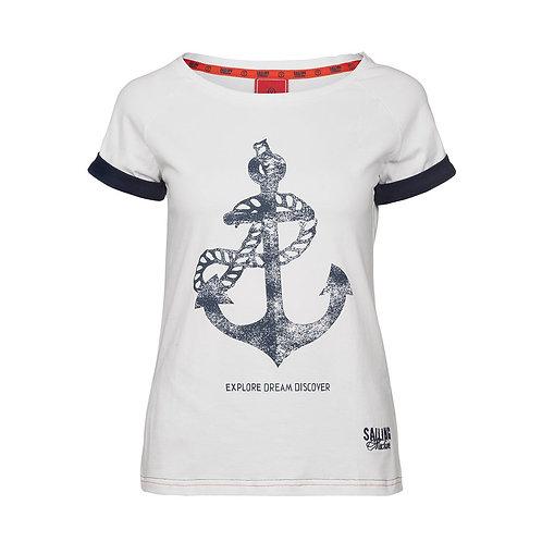 T-shirt Anchor White