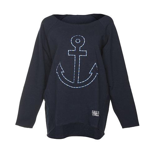 Sweatshirt Oversize Anchor