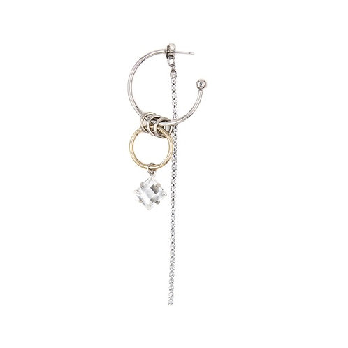 JUSTINE CLENQUENT Dolly Single Earring