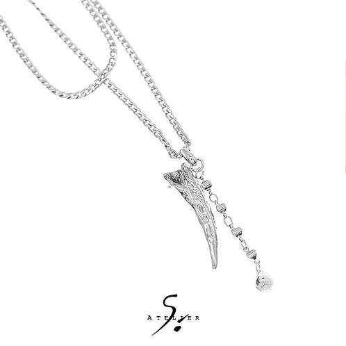 ATELIERSO 20SS Thehorn Necklace