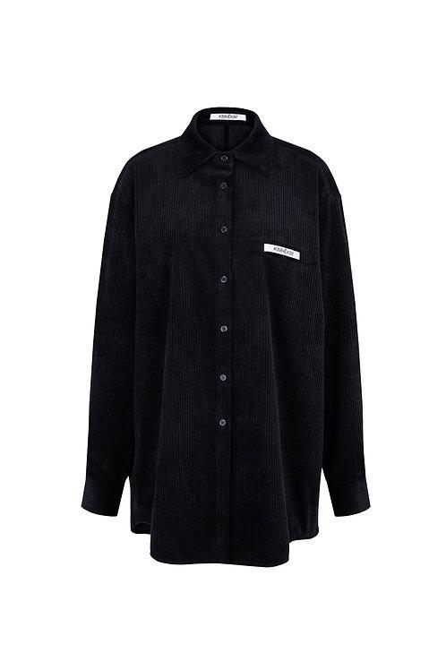 KIMHEKIM Coduroy Label Shirts