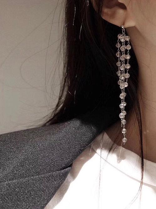 item自制 小冰球珠吊坠耳环