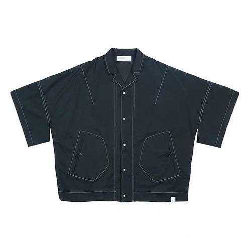 ATTEMPT Japan Style V-Neck Pocket Shirt