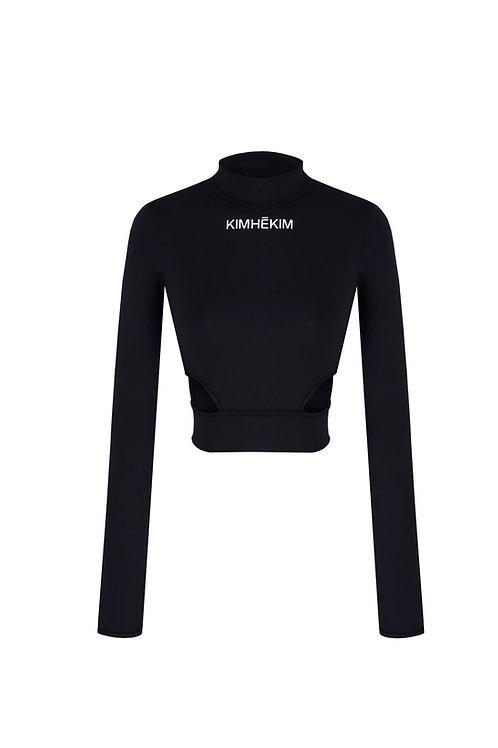 KIMHEKIM Yoga Long Sleeve Top