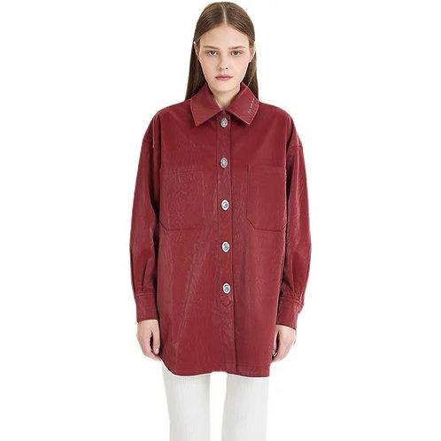 ANN ANDELMAN Long Shirt Jacket