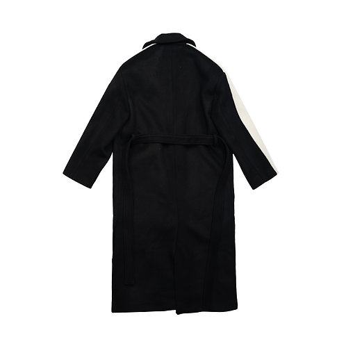 NIGHT FLOW Sideline Wool Robe Coat