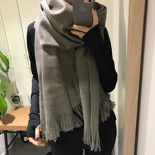 item自制 兔绒围巾 细腻亲肤 两色