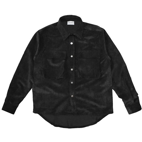ASKYURSELF Corduroy Snap Shirt