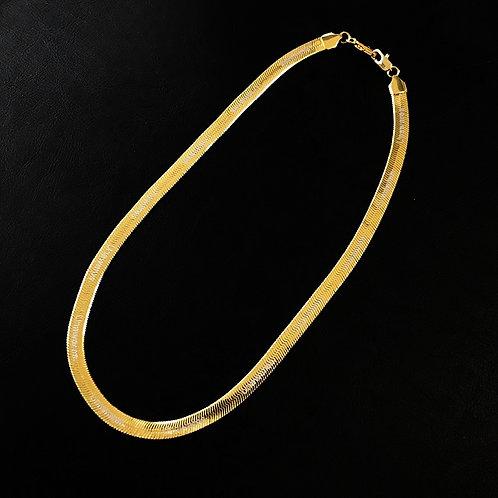 UNAWAREW Golden Necklace