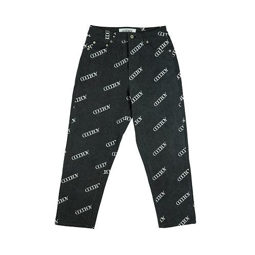 XOXOGOODBOY 2020FW Printed Denim Pants