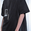 Thumbnail: ARNODEFRANCE Inside-out T-shirt Vintage Black Print