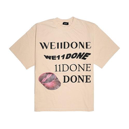 WELLDONE Washed Logo T-Shirt