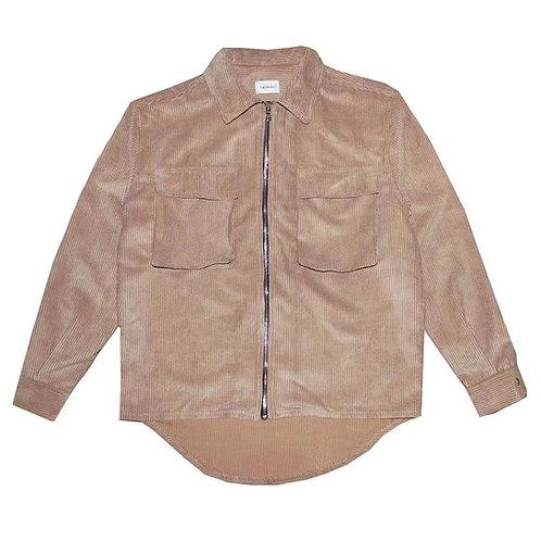 ASKYURSELF Cordury Zip Shirt