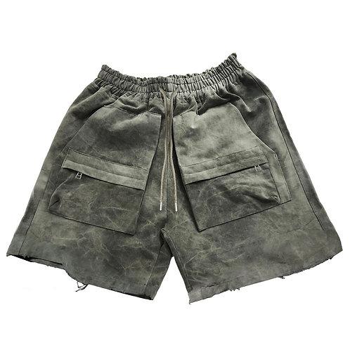 ASKYURSELF Army Shorts