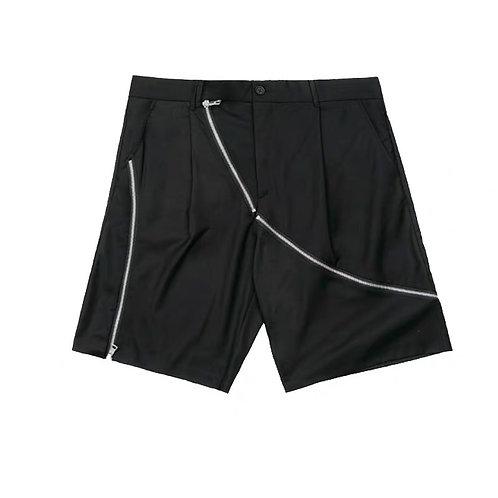 ATTEMPT Deconstructed Muti-zipper Shorts