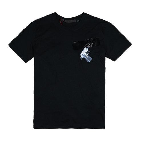51 PERCENT Hidden Pistol T Shirt
