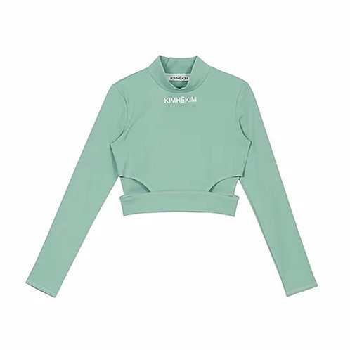 KIMHEKIM Yoga Long Sleeve Top