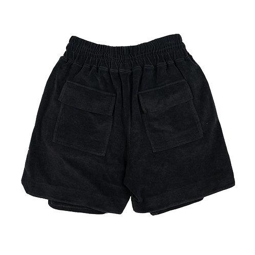 ARNODEFRANCE Iniside-out Cargo  Shorts Vintage Black