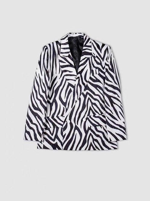 ANN ANDELMAN Zebra Jacket