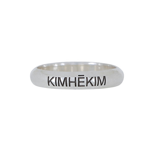 KIMHEKIM Round Thin Ring
