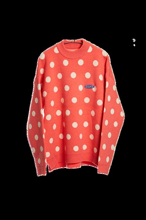 XOXOGOODBOY 2020FW Big Logo Dots Sweater