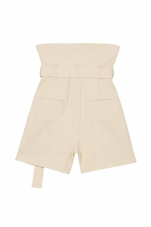 KIMHEKIM Venus Shirt Emma High-waisted Linen Blend Shorts