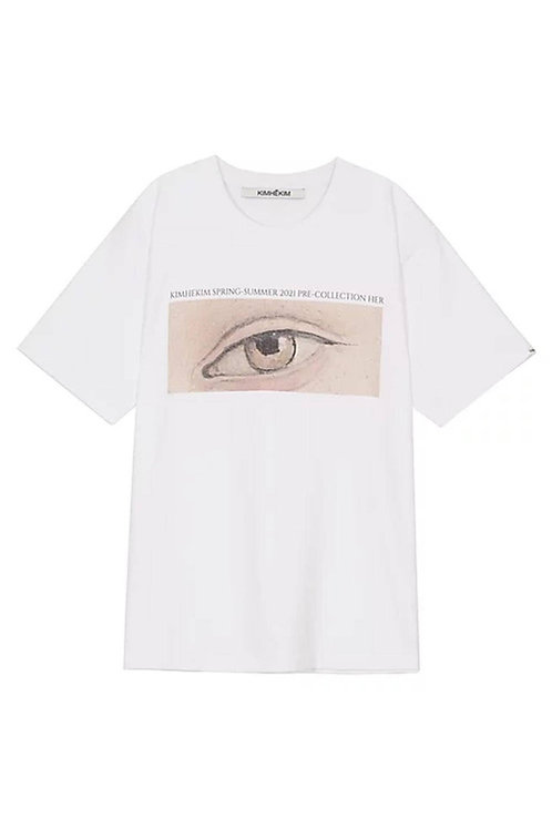 KIMHEKIM Her Eyes T shirt