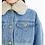 Thumbnail: ANN ANDELMAN Denim Jacket with Fleece Collar