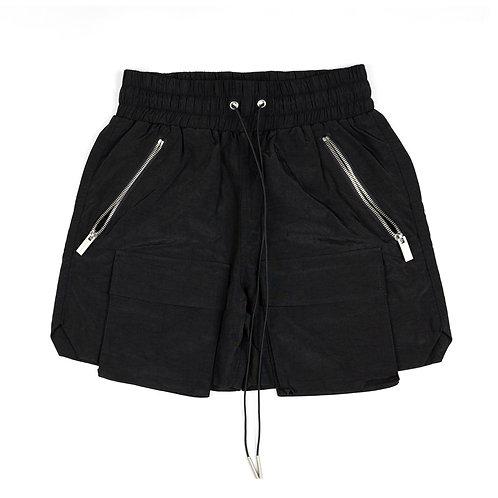 ARNODEFRANCE Crinkle Nylon Cargo Shorts