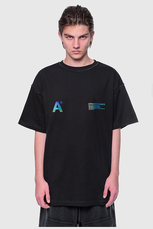 ARNODEFRANCE Inside Out T Shirt Black 3m