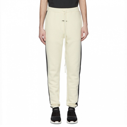 ESSENTIALS Off White Side Panel Lounge Pants