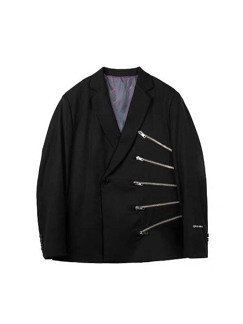UNAWARES Muti Zip Jacket