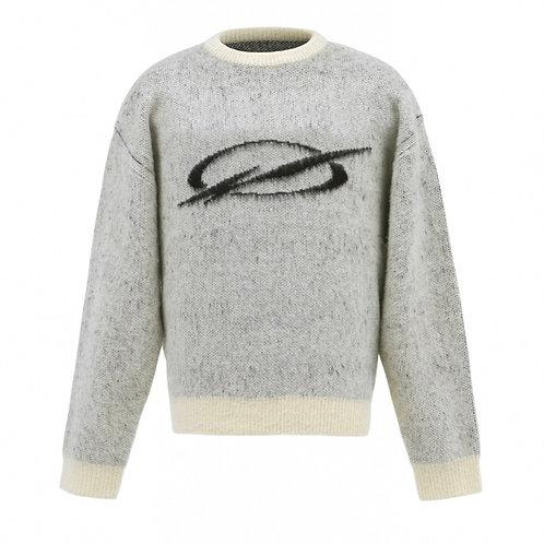 51 PERCENT Mohair Logo Knit Sweater