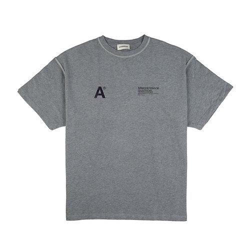 ARNODEFRANCE Inside-Out T-Shirt Grey 3M
