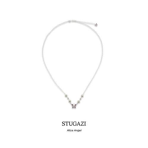 STUGAZI Alice Angel Pearl Necklace