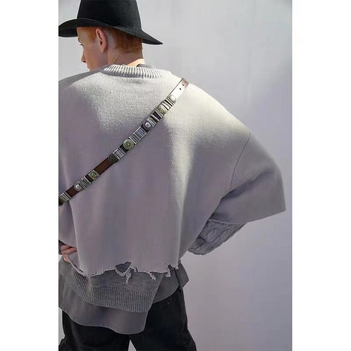 UMAMIISM Double Layer Sweater
