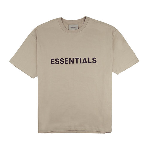 ESSENTIALS 3D Slicicon Applique Boxy Tee
