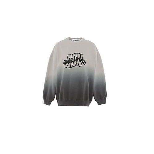 ANN ANDELMAN Gradation Grey Sweater