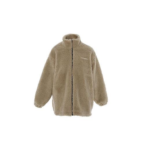 ANN ANDELMAN Teddy Bear Zip Jacket